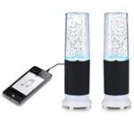 Led Fountain Desk Lamp Speaker
