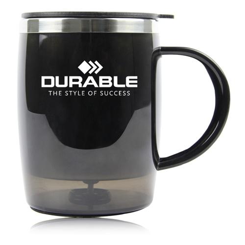 450ML Drum Shape Travel Mug Image 2