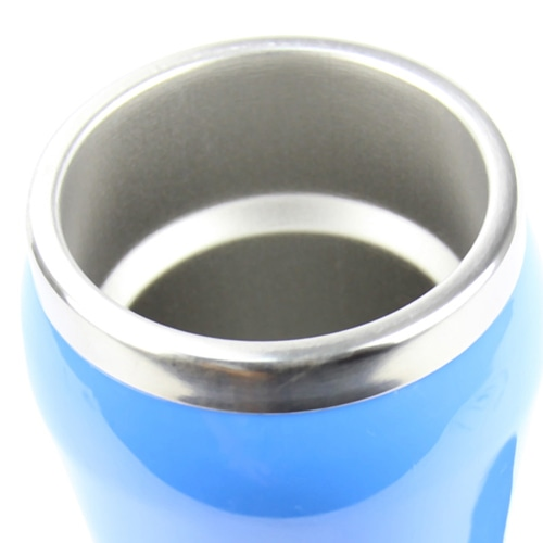 450ML Curve Steel Bottom Travel Mug