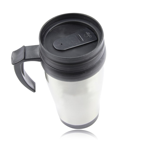 450ML Stainless Steel Travel Mug With Handle Image 1