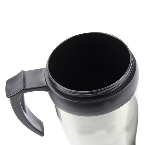 450ML Stainless Steel Travel Mug With Handle Image 5