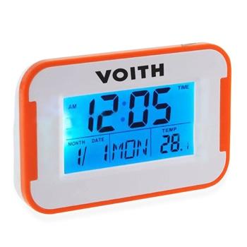 Flat Screen Alarm Desk Clock