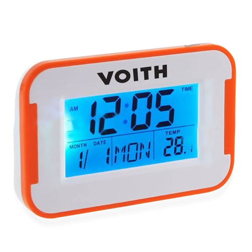 Flat Screen Alarm Desk Clock