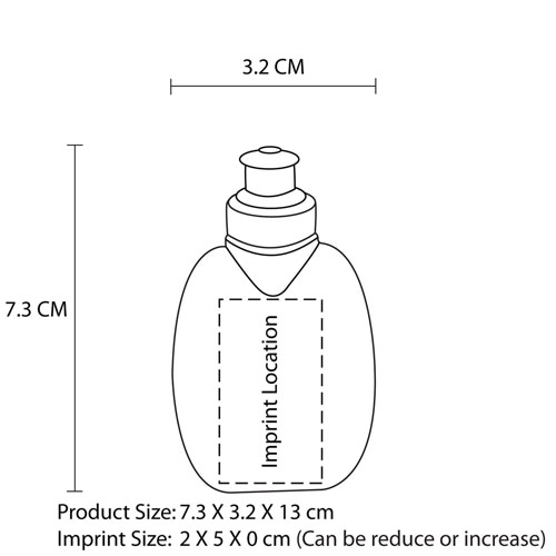 180ML Hydrate Mini Water Bottle