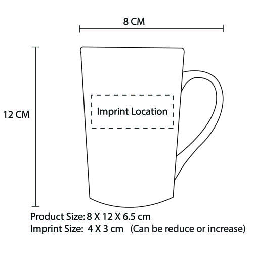 Ceramic Tall Cafe Mug