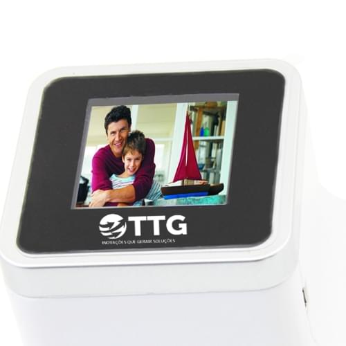Radio Digital Photo Frame With Pen Holder Image 5