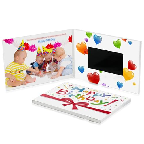 4.3 Inch Video Invitation Greeting Card