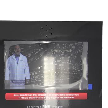 7 Inch Digital Screen Video Catalog Card
