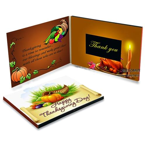 3.5 Inch Video Greeting Card
