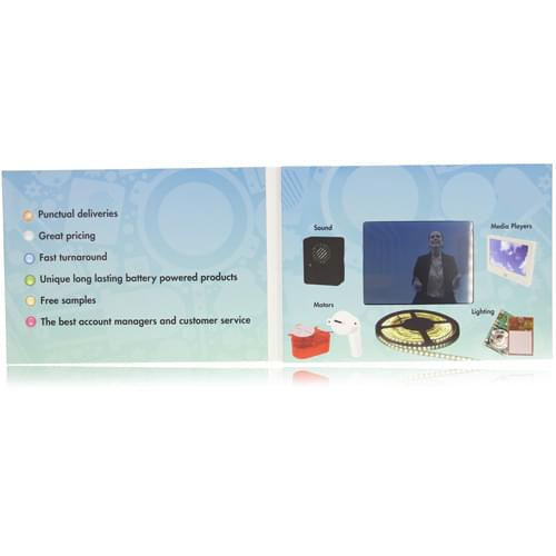 3.5 Inch Video Greeting Card Image 1