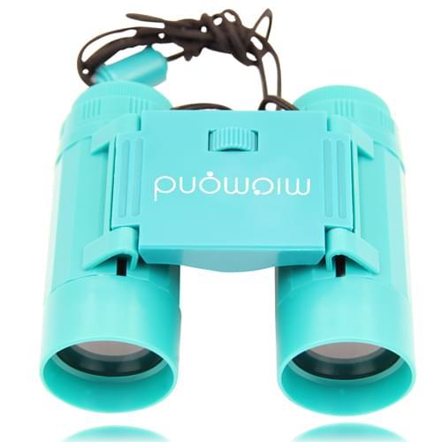 Plastic Folding Binocular With Neck Strap