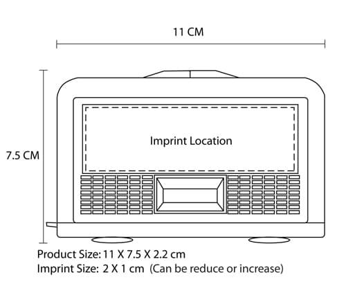 Portable Foldable Binocular Imprint Image