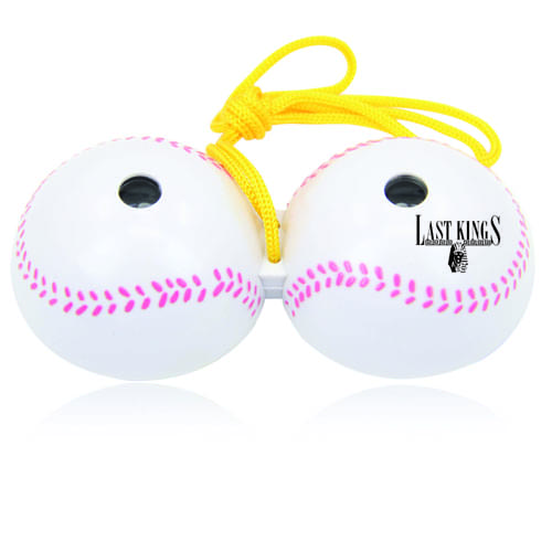 Baseball Shape Binocular With Strap Image 2