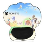Funky Shape Silicone Wrist Rest Mousepad