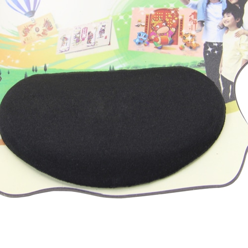 Funky Shape Silicone Wrist Rest Mousepad