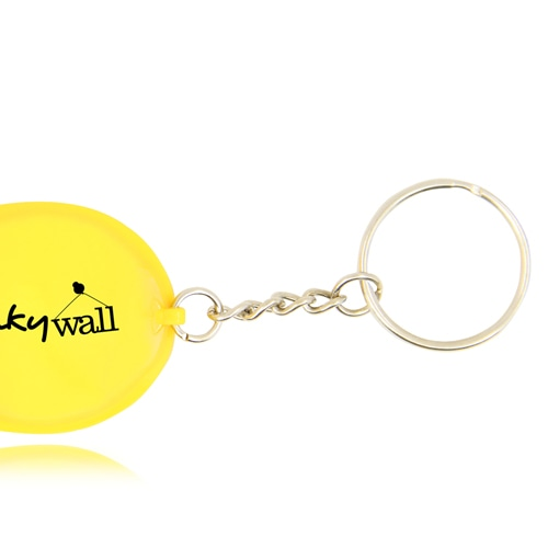 Safety Helmet Keychain With Flashlight Image 4