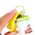 Safety Helmet Bottle Opener Keychain