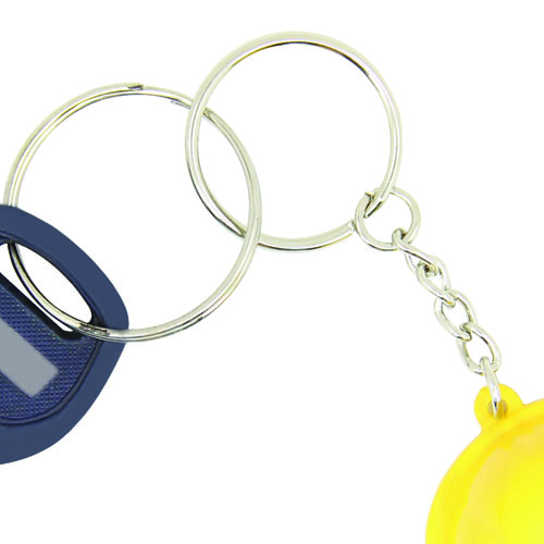 Safety Helmet Bottle Opener Keychain Image 5