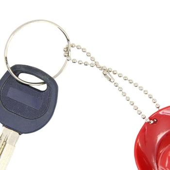 Cowboy Hat Bottle Opener Keychain