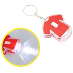 T-Shirt Shaped Keychain With LED