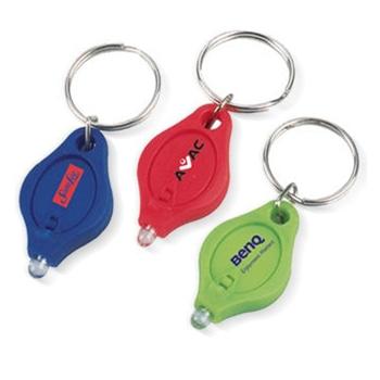 سلسلة مفاتيح مضيئة على شكل قطرة