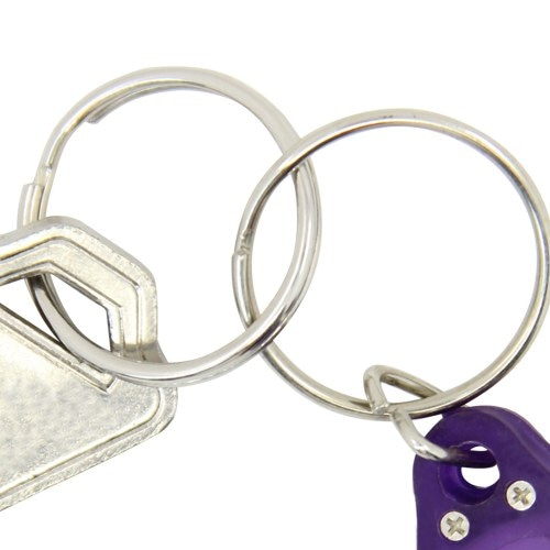 Drop Shaped Led Light Keychain Image 6