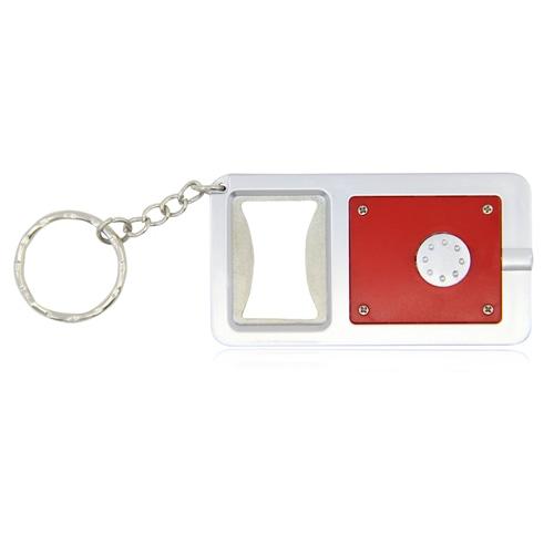 Led Light Bottle Opener Keychain Image 9
