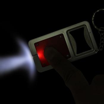 Led Light Bottle Opener Keychain
