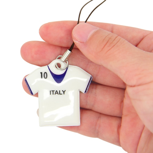 T-Shirt Shaped Phone Pendant With Keychain