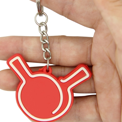 Your Custom Shape 3D PVC Keychain