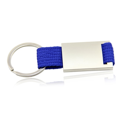 Trendy Metal Polyester Keychain Image 2