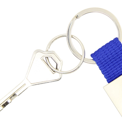 Trendy Metal Polyester Keychain Image 5