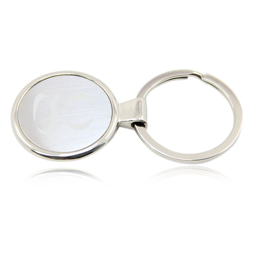 Round Brush Steel Key Holder Image 2