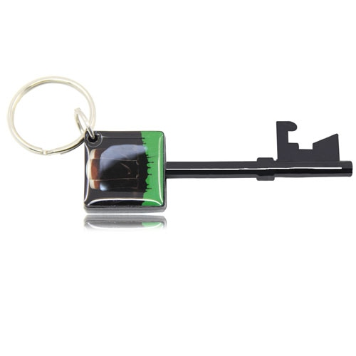 Key Shape Bottle Opener Keychain