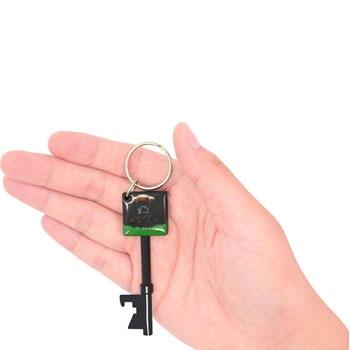Key Shape Bottle Opener Keychain