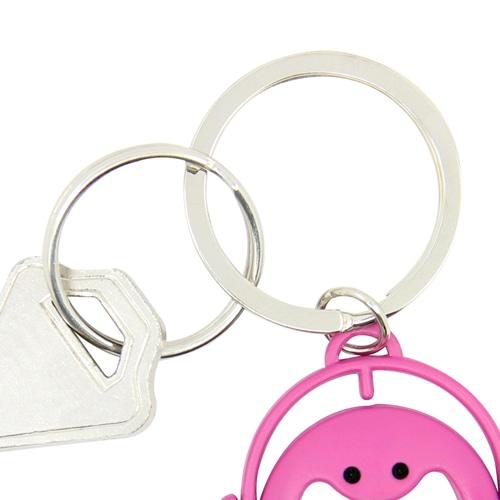 Smiling Doll Bottle Opener Keychain