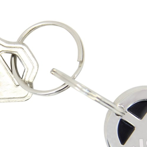 Car Shaped Metal Keychain Image 5