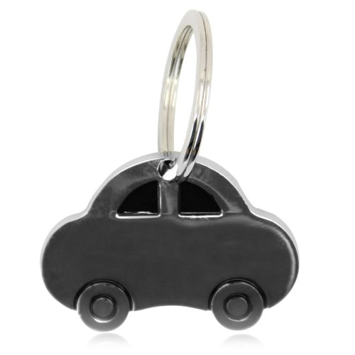 Car Shaped Metal Keychain Image 8