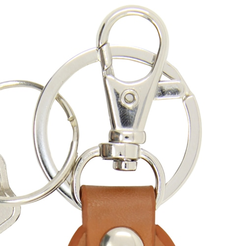 Cool Pear Shape Leather Key Chain