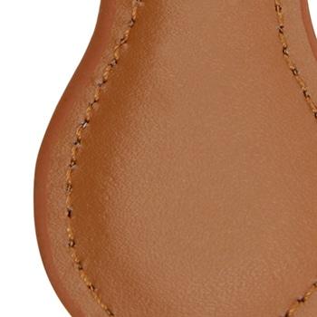 Cool Pear Shape Leather Key Chain