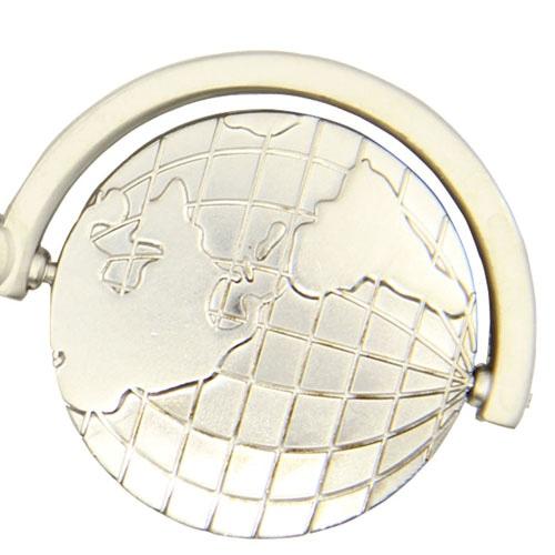 Spinning Rotating Globe Keychain Image 5