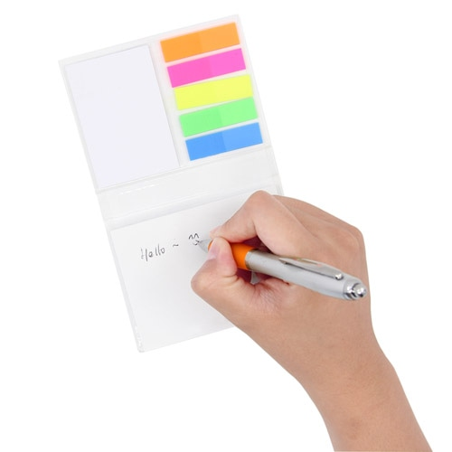 Hardcover Notepad With Flags Memo Pad Image 3