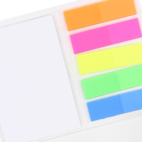 Hardcover Notepad With Flags Memo Pad Image 6