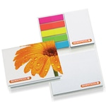 Portable Notepad With Sticky Note