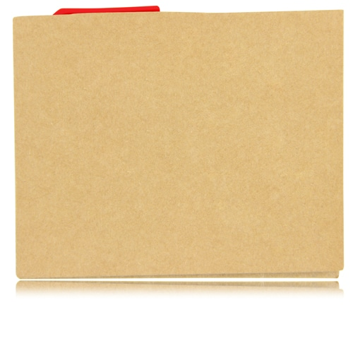Eco Kraft Cover Notepad With Pen Image 6