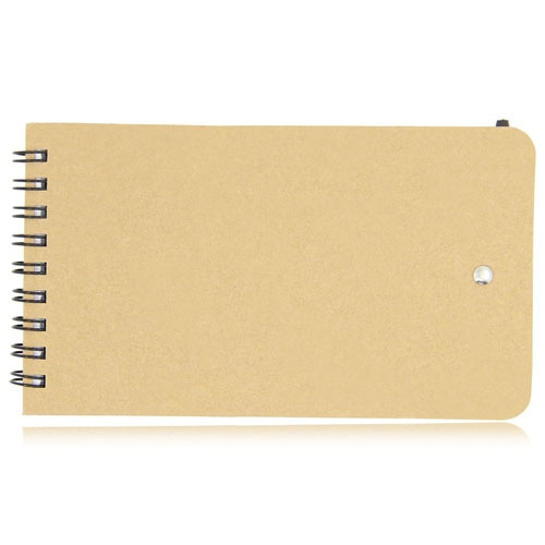Eco-Friendly Spiral Memo Pad with Pen Image 12