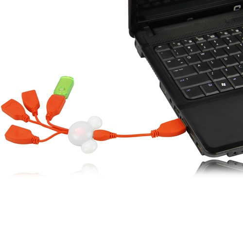 Disney Mickey 4 USB Port Hub