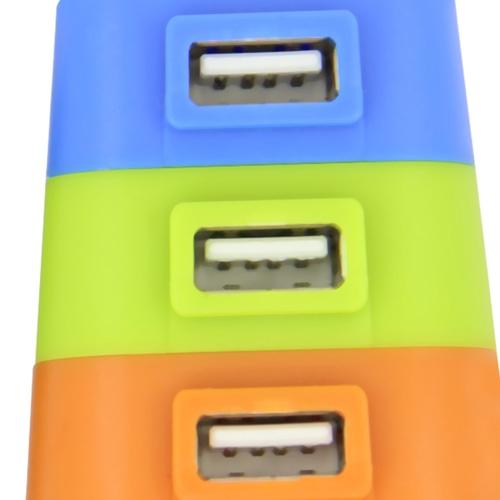 Four Adjustable Layers USB Hub