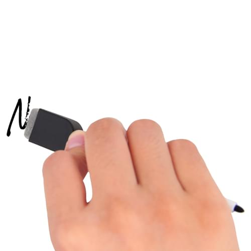 Fine Tip Marker With Eraser