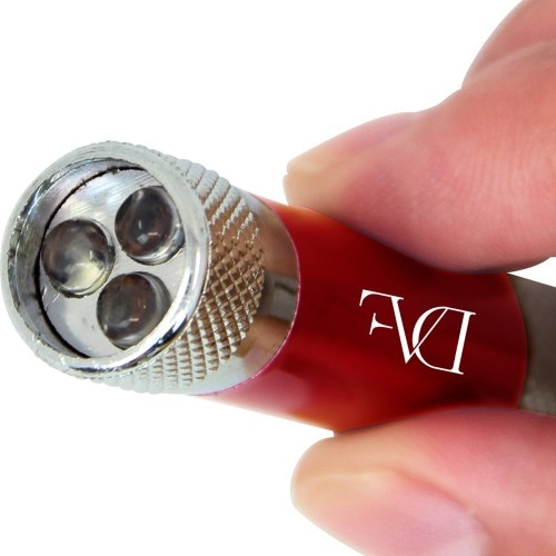 Bright LED Flashlight With Keychain